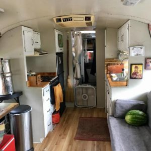 A Peek Inside- Tiny House Cleaning